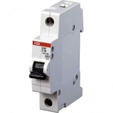 Автоматический выключатель ABB S201 С1 6кА