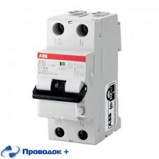 Выключатель автоматический дифференциальный (АВДТ) DS201 1п+N 16А 30мА C AC