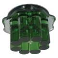 Светильник CDY13 CHR/GR (хром/зеленый) G6