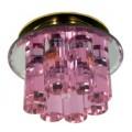 Светильник CDY14 G/PK (золото/розовый) G6