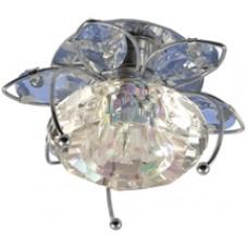 Светильник CDY02 CHR/BL (хром/голубой) G6
