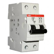 Автоматический выключатель ABB SH202L C6 4,5кА