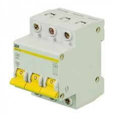 Автоматический выключатель IEK ВА47-29 3P C 1А 4,5kA