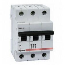 Автоматический выключатель Legrand DX3-E 3P 6А 6кА