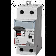 Дифференциальный автомат  Legrand DX3 2P 10А 30мА