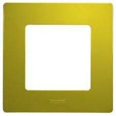 Рамка 1-я Legrand Etika зеленый папоротник