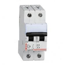 Автоматический выключатель Legrand DX3-E 2P 6А 6кА