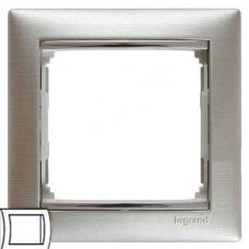 Legrand Valena алюминий матовый Рамка на 1 пост