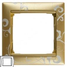 Legrand Valena золото барокко Рамка на 1 пост