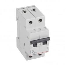 Выключатель автоматический двухполюсный RX3 C 16А 4,5кА