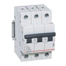 Выключатель автоматический трехполюсный RX3 C 10А 4,5кА