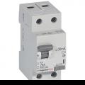 Выключатель дифференциального тока (УЗО) Legrand RX3 AC 2p 25A 30мА