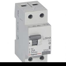 Выключатель дифференциального тока (УЗО) Legrand RX3 AC 2p 63A 30мА