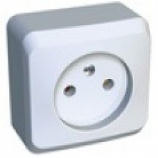 Розетка б/з Schneider Electric Этюд белая