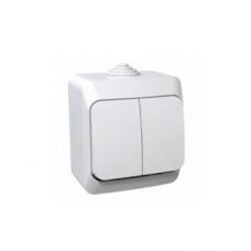 Выключатель 2кл. Schneider Electric Этюд IP44 белый