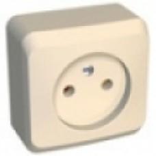 Розетка б/з Schneider Electric Этюд крем