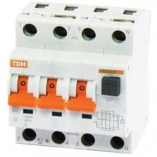 Дифавтомат TDM АВДТ63 С16 30мА 4 полюса