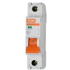 Автоматический выключатель TDM BA47-63 1п 6А