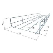 Лоток проволочный КМ-Профиль PL60x100х3000