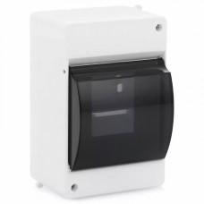 Щит  ЩРн-П-4 IP30 пластиковый белый прозрачная дверь КМПн 2/4
