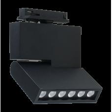Трековый светодиодный светильник DLM-12S 12W 4500K BK