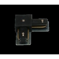 Коннектор для трековых светильников HH 204-90 BK 90 градусов белый
