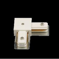 Коннектор для трековых светильников HH 204-90 WH 90 градусов белый