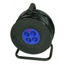 Удлинитель на катушке - 4х40м ПВС-2х2,5