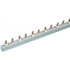 Шина соединительная 2P 63A PIN (штырь) 1м