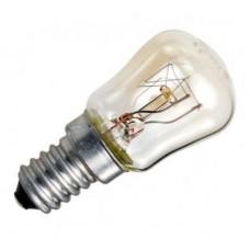 Лампа накаливания Е14 15w для холодильника