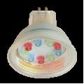 Лампа светодиодная MR16 Color 1w