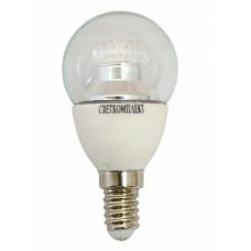 Лампа светодиодная E14 G45 5,5w