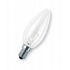 Лампа накаливания Свеча В35 40w Е14 прозрачная