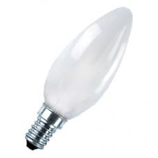 Лампа накаливания Свеча В35 40w Е14 матовая