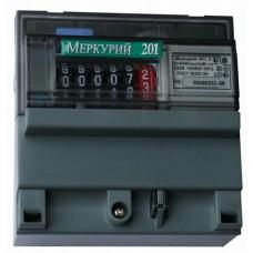 Счетчик Меркурий-201.5 5(60) однофазный однотарифный