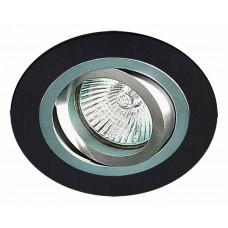 Светильник AT 01 BK плоско-поворотный
