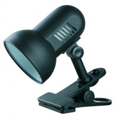 Лампа настольная на прищепке CAMELION H-035 С02 черный