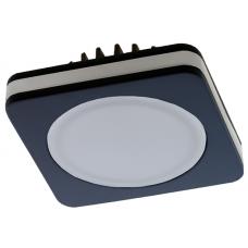 """Светильник светодиодный SDF-01S 7w BK квадрат """"сэндвич"""""""