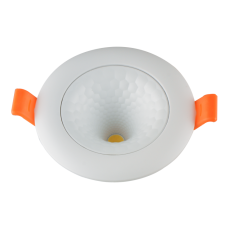 Светильник светодиодный DL-3D R 07 7w 4500K WH белый