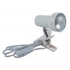 Светильник E 50/N WH на прищепке с выключателем