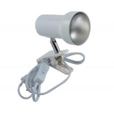 Светильник E 63/N D WH на прищепке с диммером