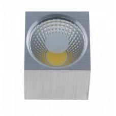 Светильник светодиодный ST-1080 COB SQ 5W Alum 4100K