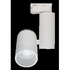 Трековый светодиодный светильник DLC-10R 10W 4500K WH