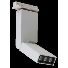 Трековый светодиодный светильник DLM-06S 6W 4500K WH