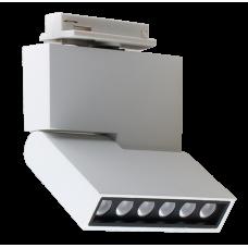 Трековый светодиодный светильник DLM-12S 12W 4500K WH