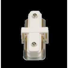 Коннектор для трековых светильников HH 205 WH прямой белый