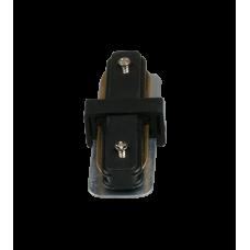 Коннектор для трековых светильников HH 205 BK прямой черный