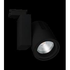 Трековый светодиодный светильник 3027 R BK 4200K