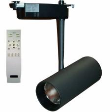 Трековый светодиодный светильник DLP 20T 20W 3000-6000K BK с пультом