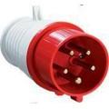 Вилка силовая АБК 5 контактов 16A 380v IP44